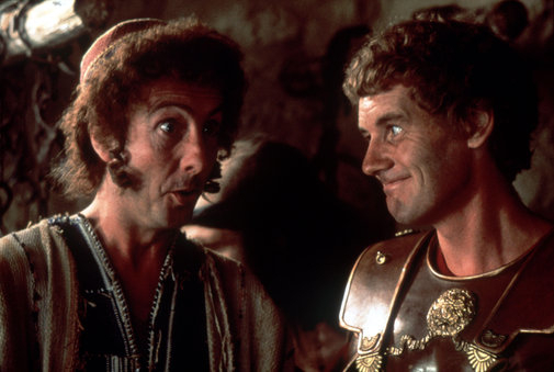 Eric Idle and Michael Palin in Life of Brian (1979)