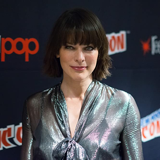 Actress Milla Jovovich attends the 'Resident Evil: The Final Chapter' photocall during Comic Con on October 7, 2016, in New York City.