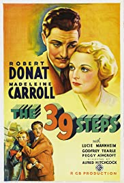 The 39 Steps Poster