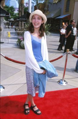Christy Carlson Romano at an event for The Kid (2000)