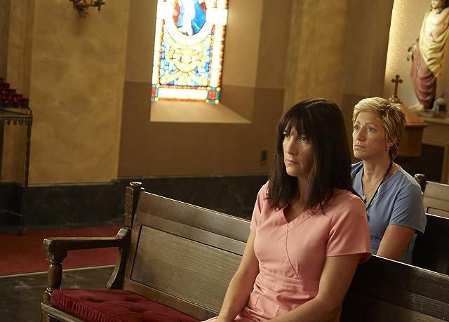 Edie Falco and Eve Best in Nurse Jackie (2009)