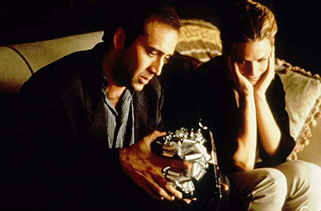 Nicolas Cage and Elisabeth Shue in Leaving Las Vegas (1995)