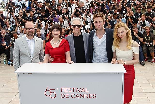 David Cronenberg, Sarah Gadon, Paul Giamatti, Emily Hampshire, and Robert Pattinson at Cosmopolis (2012)