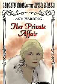 Her Private Affair Poster
