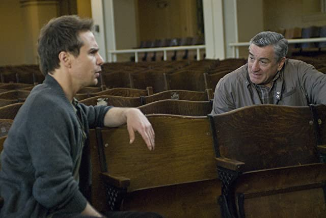 Robert De Niro and Sam Rockwell in Everybody's Fine (2009)