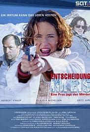 Entscheidung im Eis - Eine Frau jagt den Mörder Poster