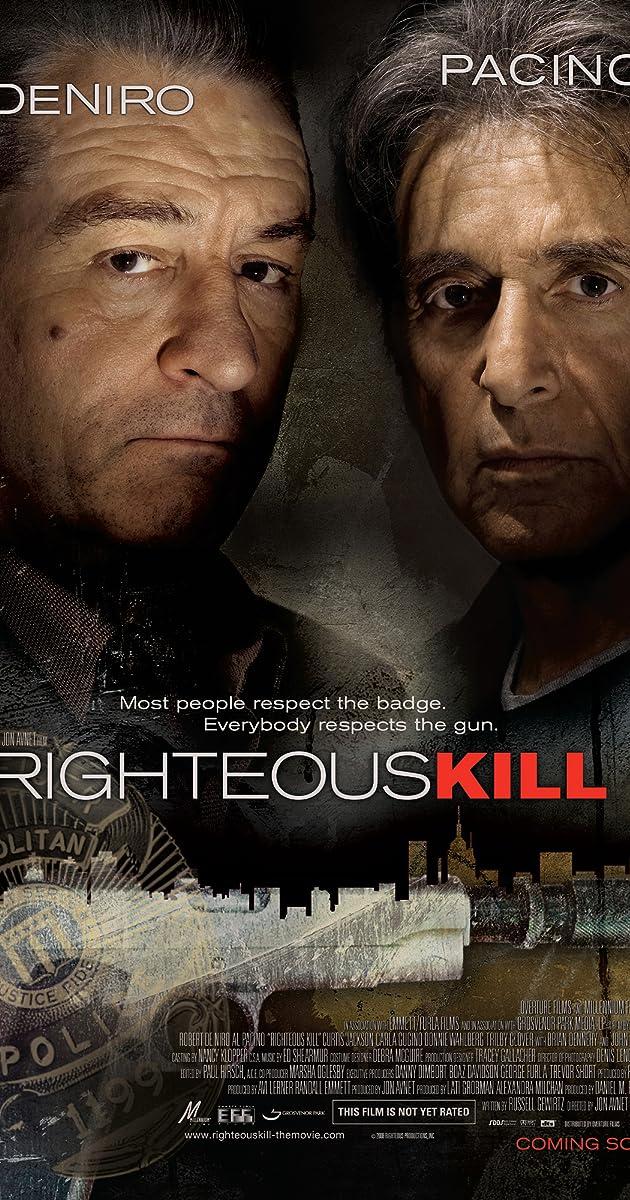 Teisė Žudyti / Righteous Kill (2008)
