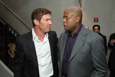Dennis Quaid and Forest Whitaker at Vantage Point (2008)
