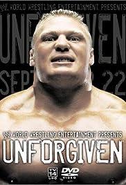 WWE Unforgiven Poster