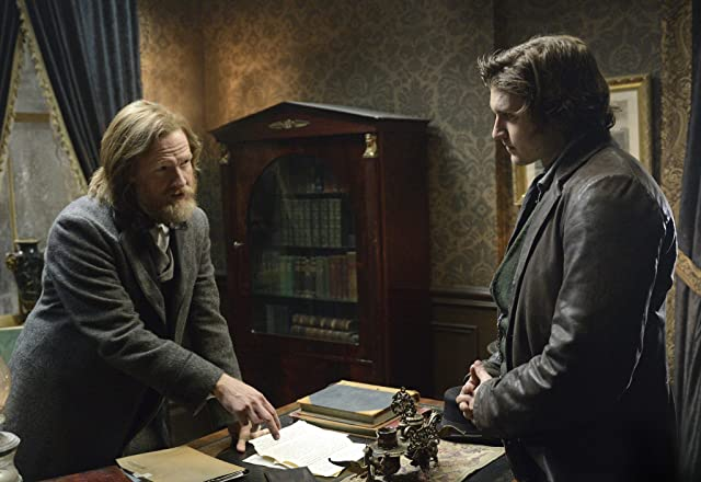 Donal Logue and Tom Weston-Jones in Copper (2012)