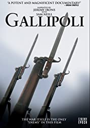 Gallipoli poster