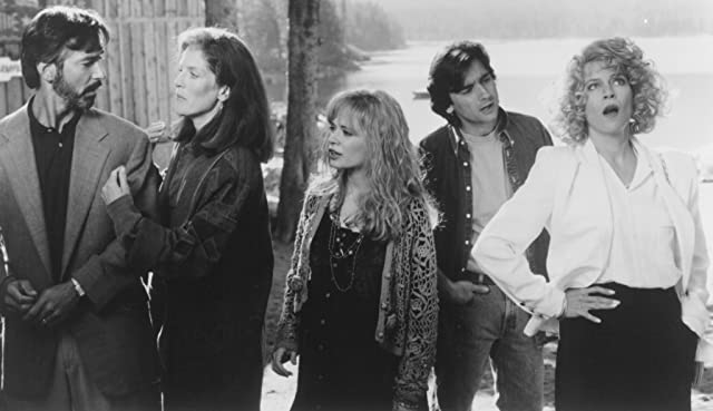 David Strathairn, Griffin Dunne, Patricia Kalember, Adrienne Shelly, and Margaret Whitton in Big Girls Don't Cry... They Get Even (1992)