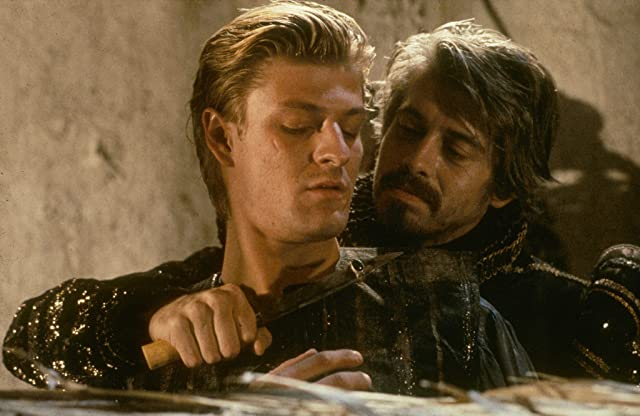 Sean Bean and Nigel Terry in Caravaggio (1986)