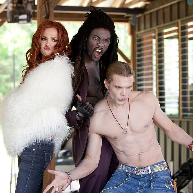 Arielle Kebbel, Charlie Weber, and B.J. Britt in Vampires Suck (2010)