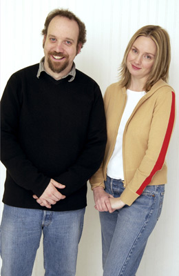 Hope Davis and Paul Giamatti at American Splendor (2003)