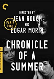 Chronicle of a Summer Poster