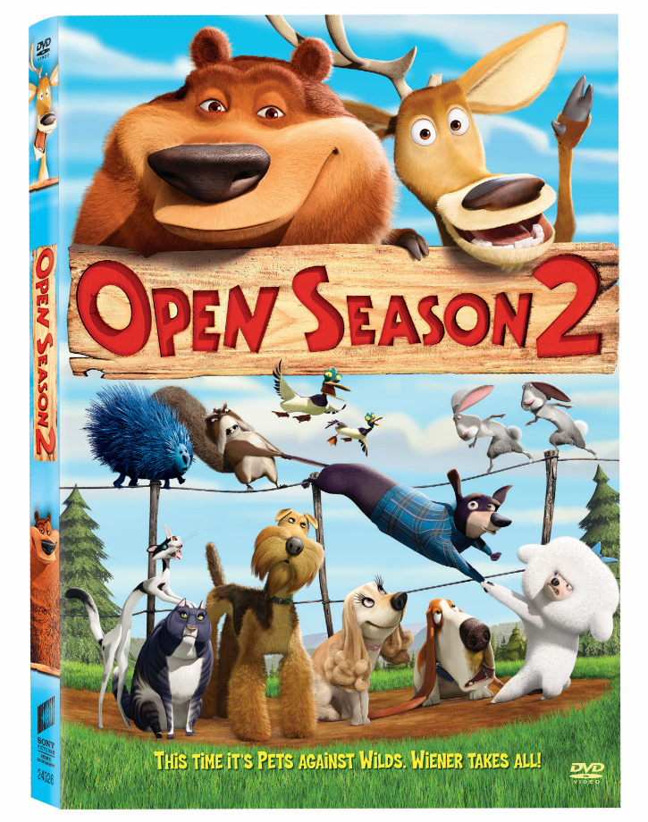 Open Season 2 (2008)   Cover