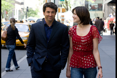 Patrick Dempsey and Michelle Monaghan in Made of Honor (2008)