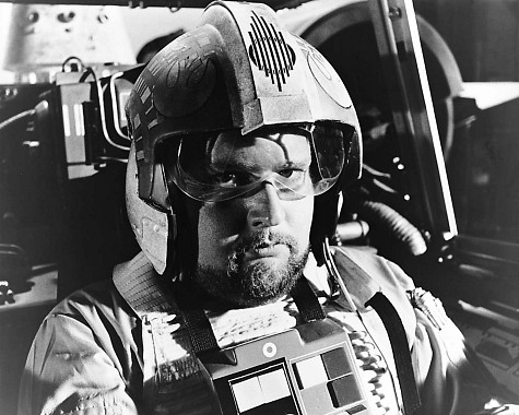 William Hootkins as Red Six in Star Wars (1977)