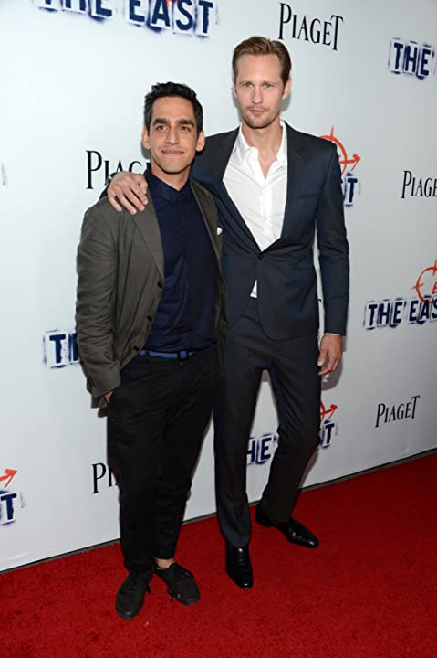 Alexander Skarsgård and Zal Batmanglij at an event for The East (2013)