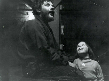 Allan Rich and Kim Hunter's little girl, Kathy, in