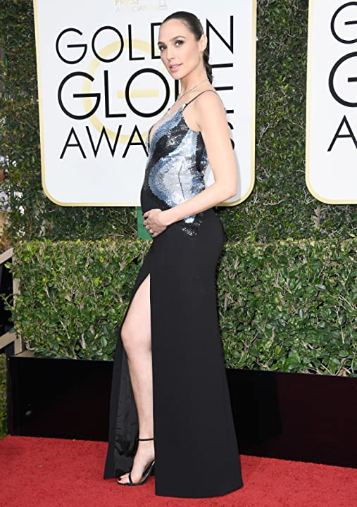 Gal Gadot at an event for The 74th Golden Globe Awards (2017)