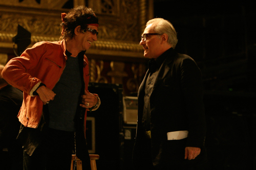 Martin Scorsese and Keith Richards in Shine a Light (2008)