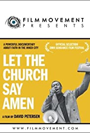 Let the Church Say, Amen Poster