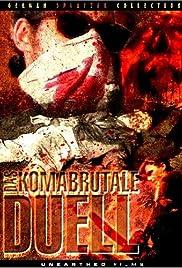 Das komabrutale Duell Poster