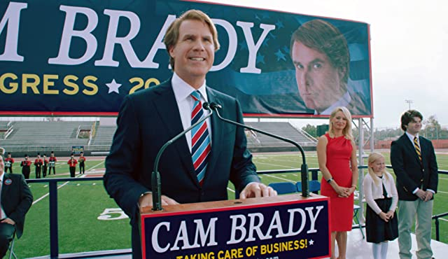 Will Ferrell, Katherine LaNasa, Jessica Brady, Randall Cunningham, and Madison Wolfe in The Campaign (2012)