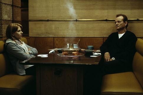 Bill Murray and Scarlett Johansson in Lost in Translation (2003)