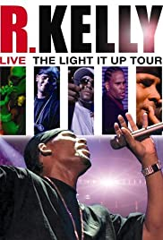 R. Kelly Live: The Light It Up Tour Poster