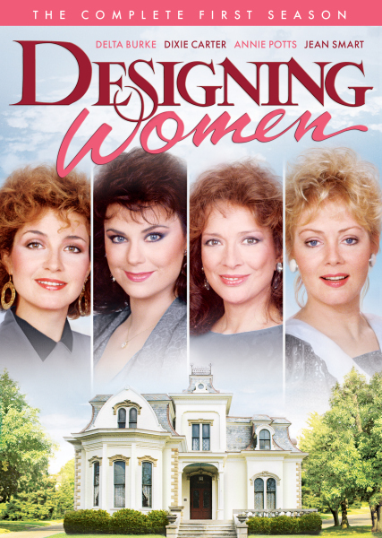 Annie Potts, Delta Burke, Jean Smart, and Dixie Carter in Designing Women (1986)