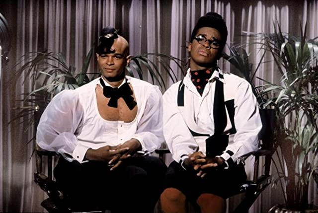 Damon Wayans and David Alan Grier in In Living Color (1990)