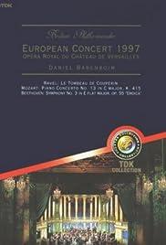 Berliner Philharmoniker - Europakonzert 1997 Poster