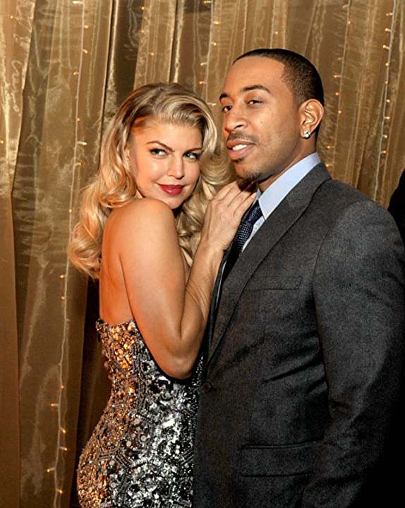 Fergie and Ludacris at an event for New Year's Eve (2011)
