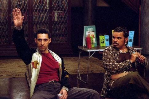 John Turturro and Luis Guzmán in Anger Management (2003)