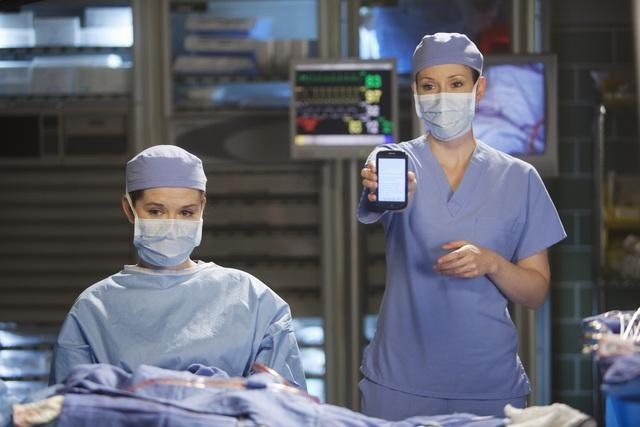 Sarah Drew and Chyler Leigh in Grey's Anatomy (2005)
