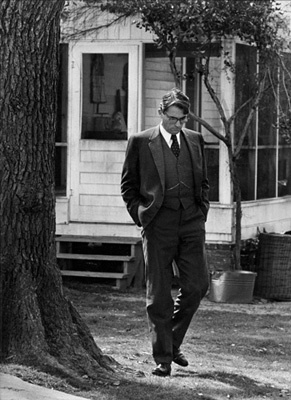Gregory Peck in To Kill a Mockingbird (1962)