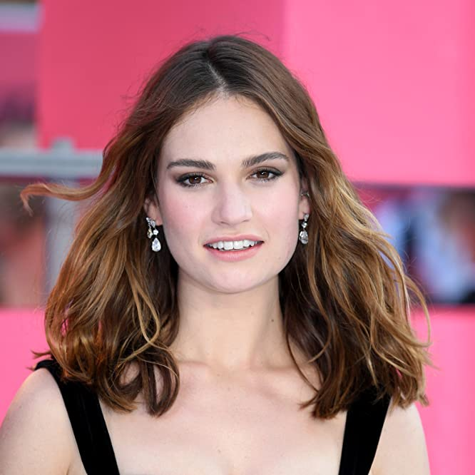 Lily James attends the European premiere of 'Baby Driver' at Cineworld Leicester Square on June 21, 2017 in London, United Kingdom.