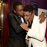 Ashton Sanders and Jharrel Jerome at an event for The 89th Annual Academy Awards (2017)