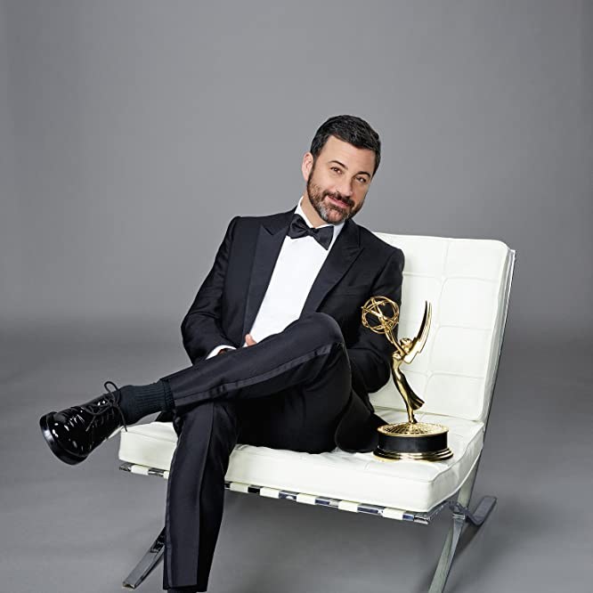 Jimmy Kimmel, host of the 68th Primetime Emmy Awards