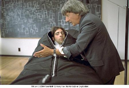 Dustin Hoffman and Jason Schwartzman in I Heart Huckabees (2004)