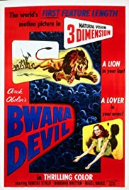 Bwana Devil (1952) Poster - Movie Forum, Cast, Reviews