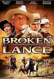 Broken Lance Poster