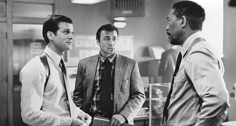 Cary Elwes, Morgan Freeman, and Alex McArthur in Kiss the Girls (1997)