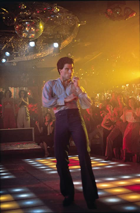 John Travolta in Saturday Night Fever (1977)