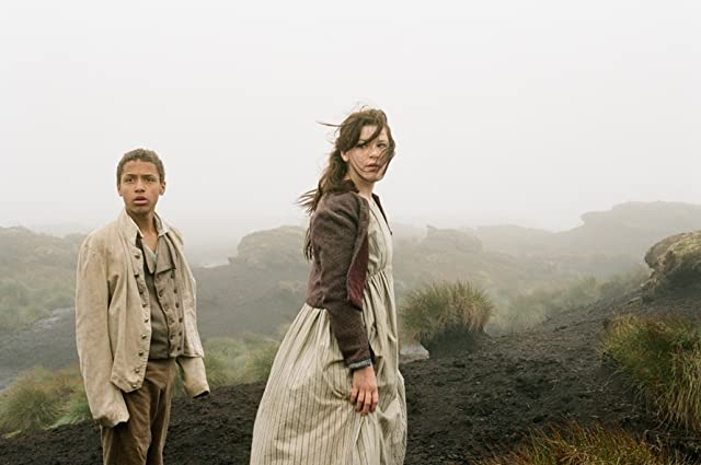 Shannon Beer and Solomon Glave in Wuthering Heights (2011)