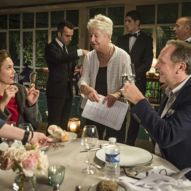 Diane Lane, Eleanor Coppola, and Arnaud Viard in Paris Can Wait (2016)