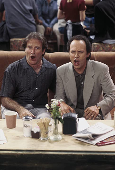 Robin Williams and Billy Crystal in Friends (1994)